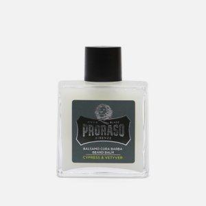 Бальзам для бороды Cypress & Vetyver Proraso. Цвет: зелёный