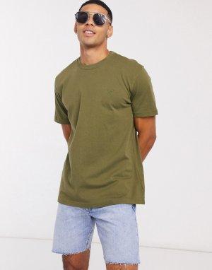 Зеленая футболка с круглым вырезом -Зеленый цвет American Eagle