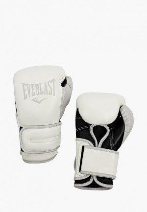 Перчатки боксерские Everlast Powerlock PU. Цвет: синий