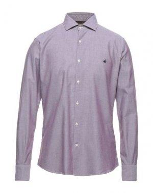 Pубашка BROOKSFIELD. Цвет: красно-коричневый