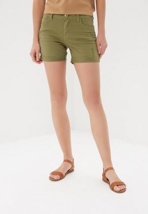 Шорты джинсовые Colcci. Цвет: зеленый