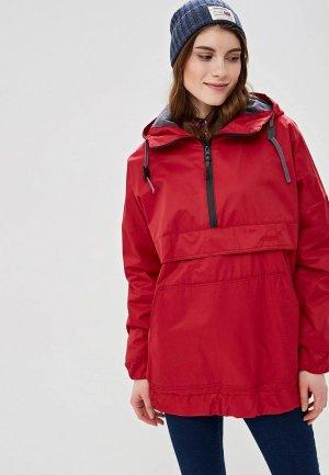 Куртка утепленная Free Flight. Цвет: красный