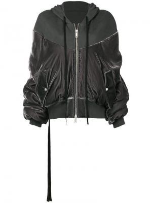 Бархатная куртка-бомбер Unravel Project