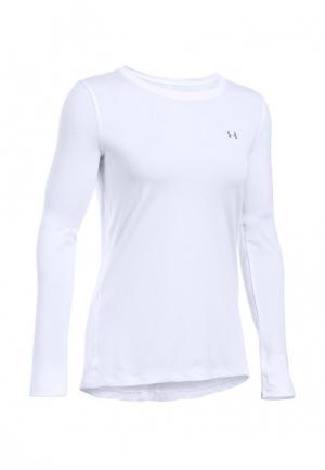 Лонгслив спортивный Under Armour UA HG Long Sleeve. Цвет: белый
