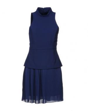 Короткое платье ANNARITA N. Цвет: синий