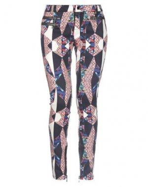 Джинсовые брюки APRIL MAY. Цвет: розовый