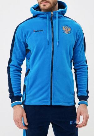 Костюм спортивный Forward. Цвет: голубой