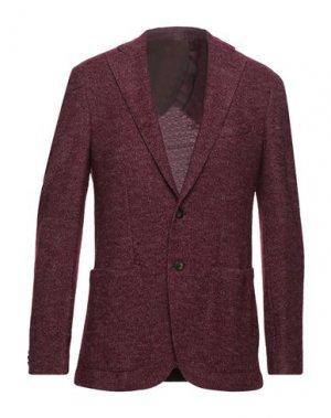 Пиджак PANCALDI & B. Цвет: красно-коричневый