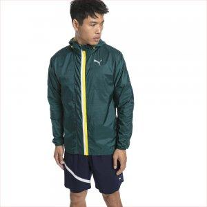 Ветровка Last Lap Jacket PUMA. Цвет: зеленый