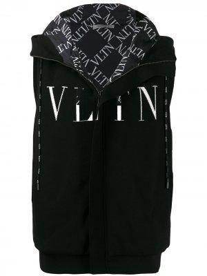 Жилет с принтом VLTN Valentino. Цвет: черный