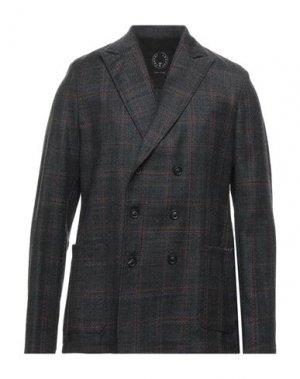 Пиджак T-JACKET by TONELLO. Цвет: стальной серый