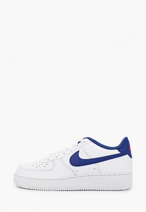 Кеды Nike AIR FORCE 1 (GS). Цвет: белый