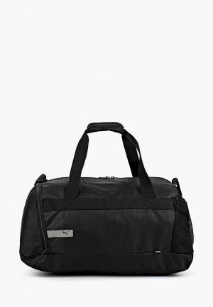 Сумка спортивная PUMA Vibe Sports Bag. Цвет: черный