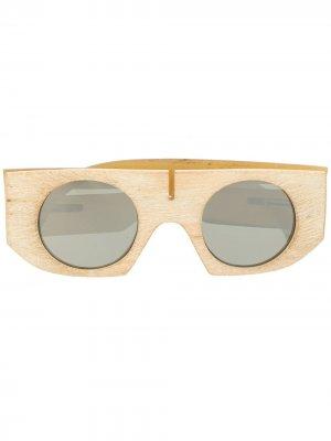 Солнцезащитные очки Inaisce Rigards. Цвет: белый