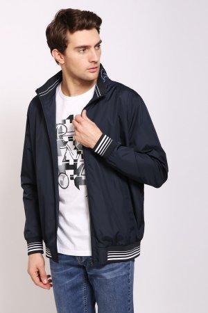 Куртка Pezzo. Цвет: синий