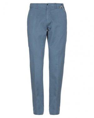 Повседневные брюки EM'S OF MASON'S. Цвет: грифельно-синий