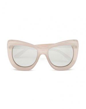 Солнечные очки LE SPECS. Цвет: светло-серый