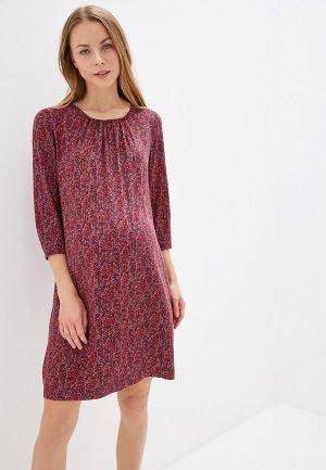Платье BuduMamoy. Цвет: бордовый