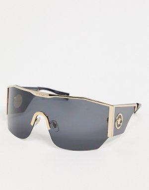 Солнцезащитные очки-мака OVE2220-Черный Versace