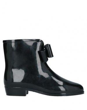 Полусапоги и высокие ботинки VIVIENNE WESTWOOD ANGLOMANIA + MELISSA. Цвет: черный