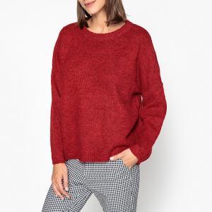 Пуловер с круглым вырезом из плотного трикотажа ARGENTINA GARANCE PARIS. Цвет: серый