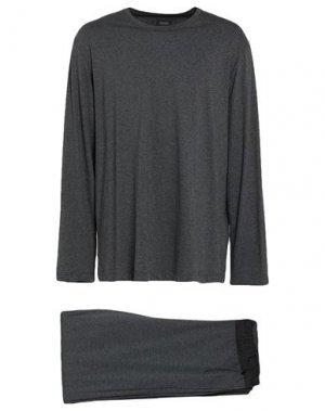 Пижама HANRO. Цвет: стальной серый