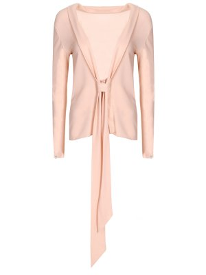Блуза с лентами Chapurin. Цвет: разноцветный