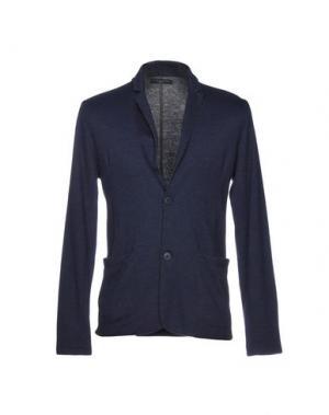 Пиджак DANIELE FIESOLI. Цвет: темно-синий