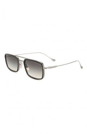Солнцезащитные очки Dita. Цвет: серебряный