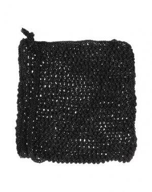 Сумка на плечо DRAGON. Цвет: черный