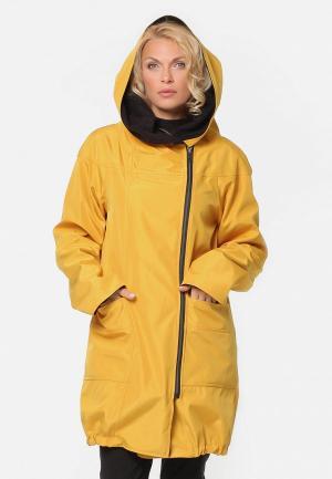 Куртка утепленная Kata Binska VASSA. Цвет: желтый