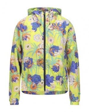 Куртка DUVETICA. Цвет: кислотно-зеленый