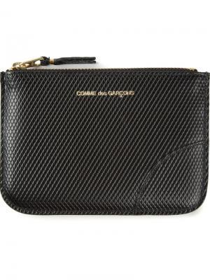 Классический кошелек Comme Des Garçons Wallet. Цвет: черный