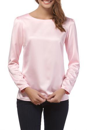 Блуза Vincenzo Boretti. Цвет: розовый