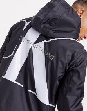 Куртка на молнии -Черный Calvin Klein Jeans