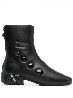 Ботинки Solaris-21 Raf Simons. Цвет: черный