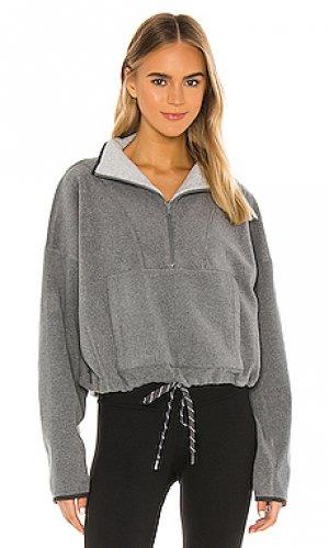 Пуловер yin yang alo. Цвет: серый