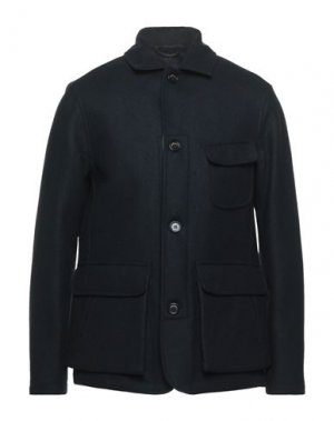 Пальто PRESIDENT'S. Цвет: темно-синий
