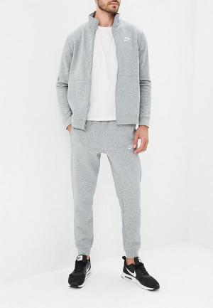 Костюм спортивный Nike Sportswear Mens Fleece Track Suit. Цвет: серый