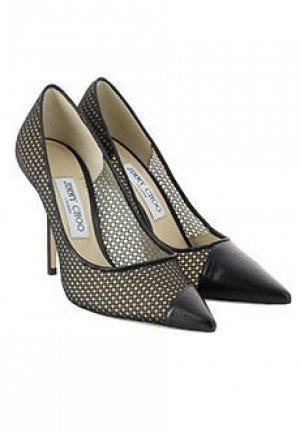 Туфли JIMMY CHOO. Цвет: черный