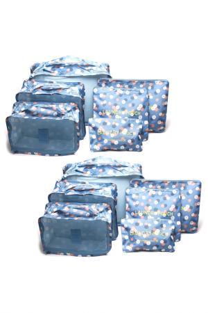 Два комплекта сумок HOMSU. Цвет: голубой
