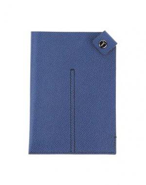 Чехол для документов TOD'S. Цвет: синий