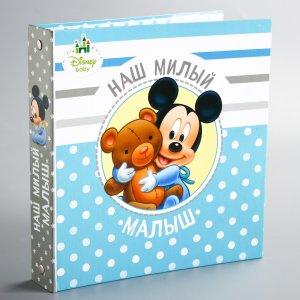 Фотоальбом на металлических кольцах с наклейками Disney
