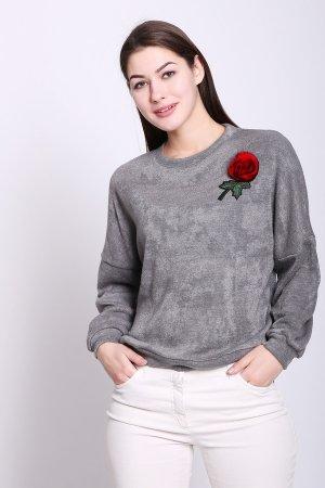 Пуловер D.S.. Цвет: серый