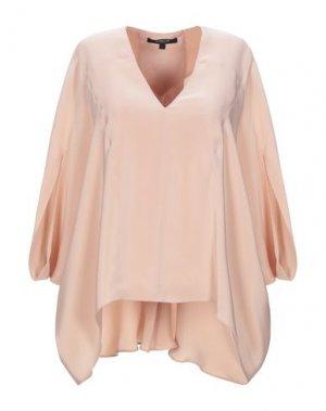 Блузка DEREK LAM. Цвет: пудровый