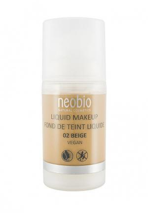 Тональный крем Neobio 02 бежевый , 30 мл. Цвет: бежевый