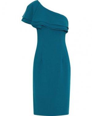 Платье до колена BLACK HALO EVE by LAUREL BERMAN. Цвет: цвет морской волны