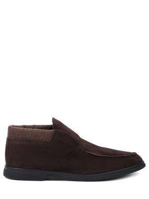 Ботинки замшевые на байке ALDO BRUE`