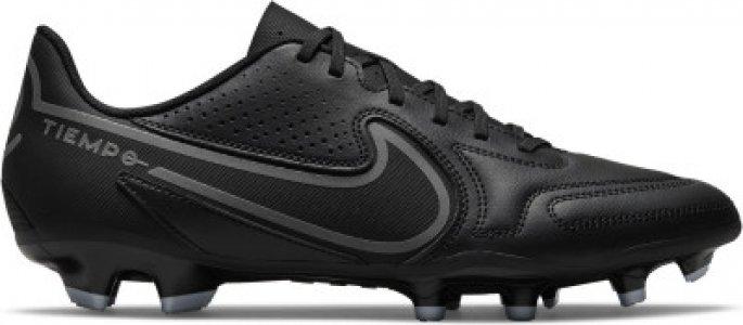 Бутсы мужские Tiempo Legend 9 Club Fg/Mg, размер 38 Nike. Цвет: черный