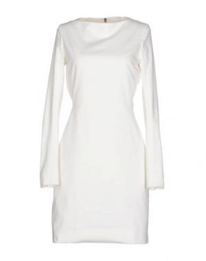 Короткое платье GARETH PUGH. Цвет: белый